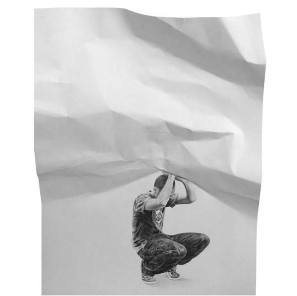 Retratos III 7 by Cesar Del Valle