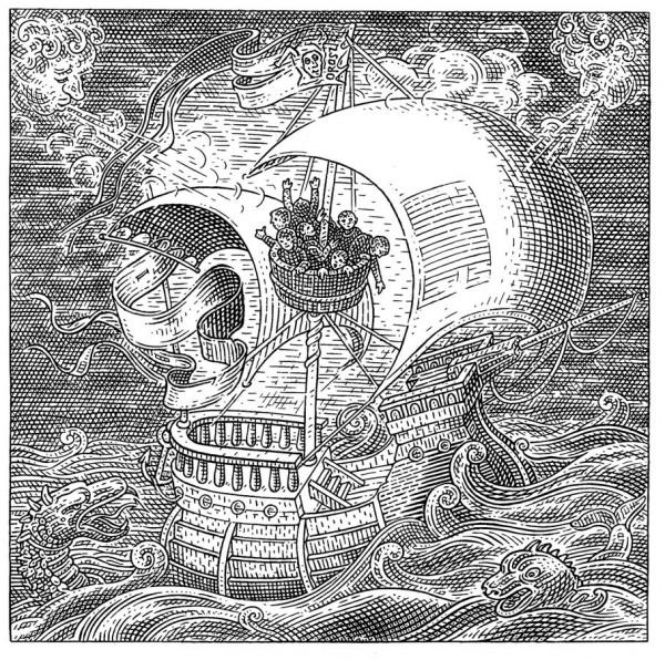 Skull Illusion by István Orosz