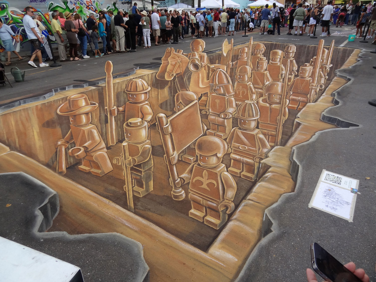 Examples of Optical Illusion Drawings