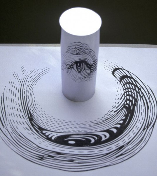 Anamorphic Eye by Istvan Orosz
