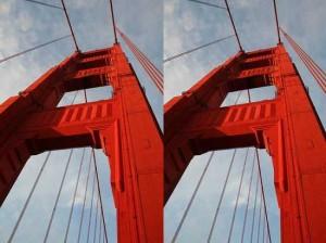Golden Gate Bridge Illusion