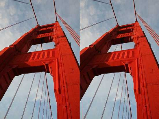 Golden Gate Bridge Illusion