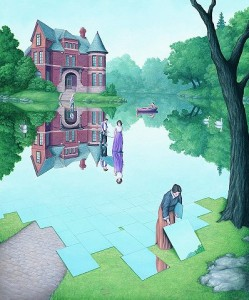 Still Waters by Rob Gonsalves