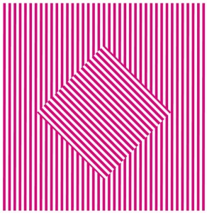 Moving Pink Square by Daniel Picon