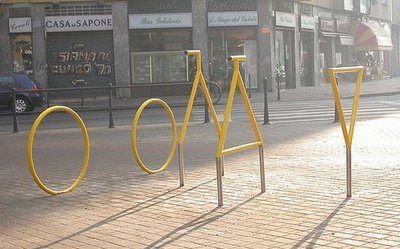 Bicycle Sculpture Optical Illusion #2
