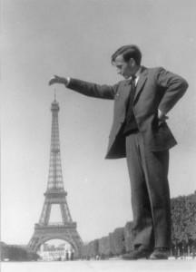 Eiffel Tower Relative Size Illusion