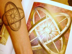 Impossible Circles Tattoo