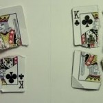 Playing Card Trompe L'oeil Drawing