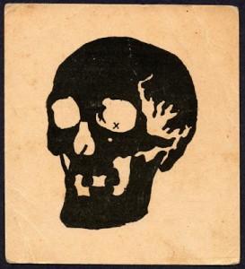 Skull Afterimage Illusion