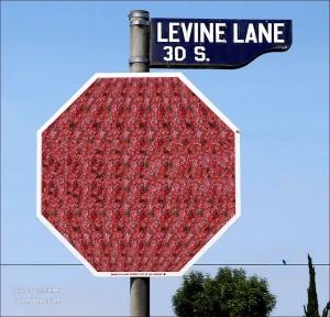 Stop Stereogram by Gene Levine