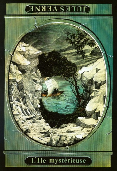 The Mysterious Island (Inverted)
