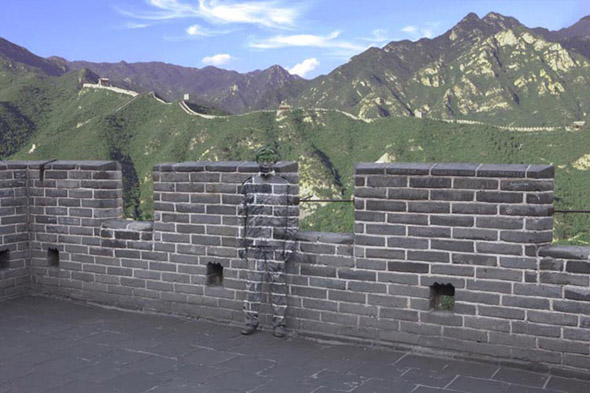 Liu Bolin - Invisible Man Image #1