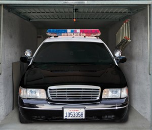 Style Your Garage - Police Car