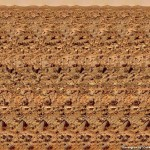 Red Planet Stereogram by 3Dimka