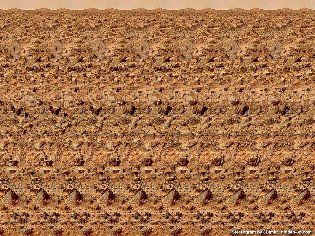 Red Planet Stereogram | An Optical Illusion