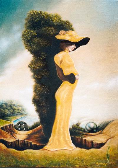 optical illusion hidden illusions face paintings invisible surrealism woman igor lysenko secret faces wilde moillusions mother couple lady painting landscape