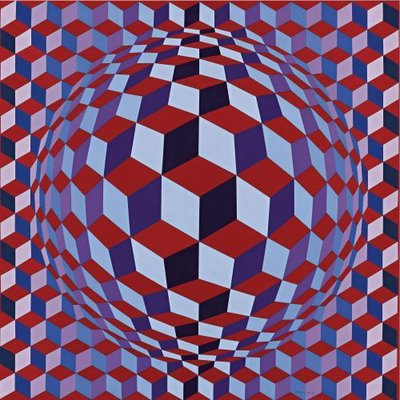 The Op Art of Victor Vasarely | An Optical Illusion