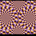 Spinning Circles Motion Illusion