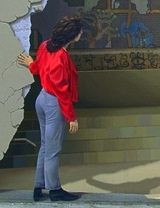 John Pugh Wall Mural Detail