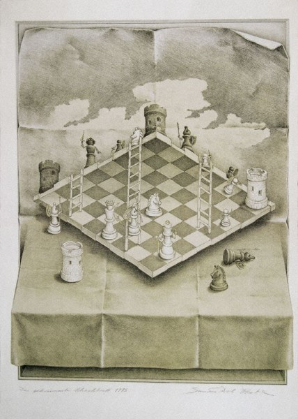 Sandro Del-Prete - The Warped Chessboard