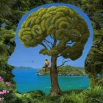 Brainy Tree Illusion by Igor Morski