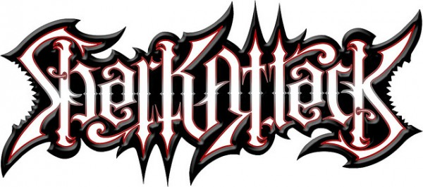 Shark Attack Ambigram