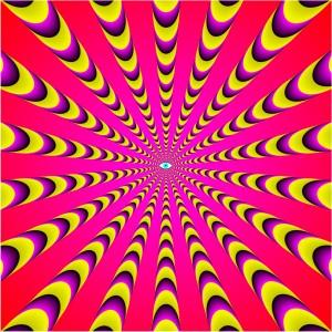 Eye Rays by Akiyoshi Kitaoka