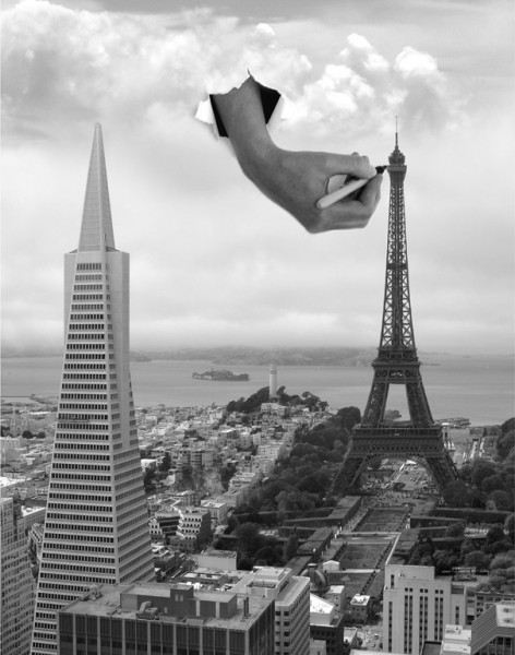Intrusive Art by Thomas Barbey