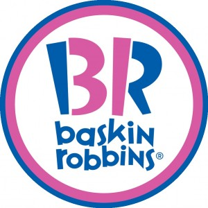 baskin robbins optical illusion logo
