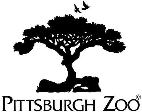 pittsburgh zoo optical illusion logo