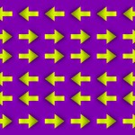 Moving Arrows Optical Illusion