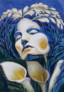 Ecstasy of the Lilies by Octavio Ocampo