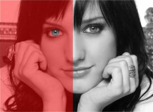 Eye Color Optical Illusion
