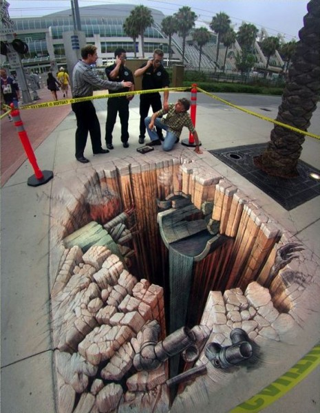 Crash Site by Kurt Wenner