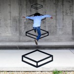 """Platforms"" by Aakash Nihalani"