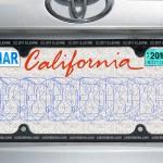 Vanity License Plate Stereogram