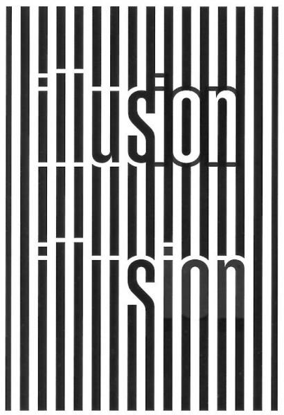 Illusion Ambigram by Scott Kim