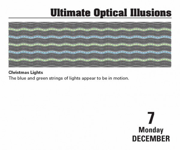 Ultimate Optical Illusions 2015 Calendar - Interior #2