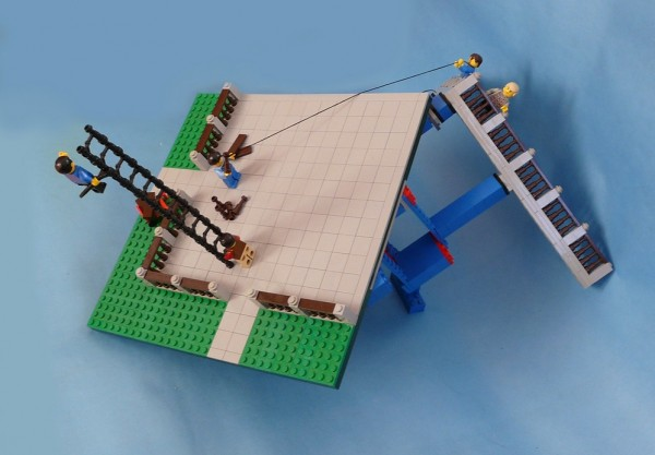 lego terrace reveal #1