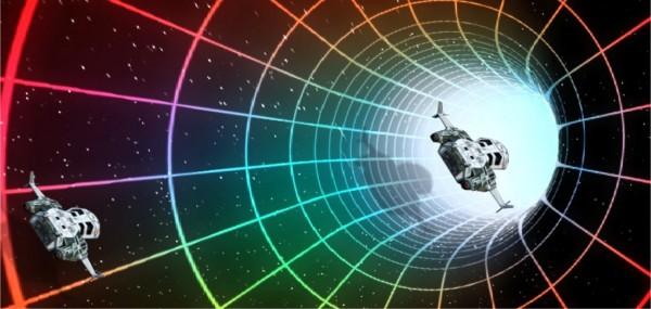 Spaceships Optical Illusion