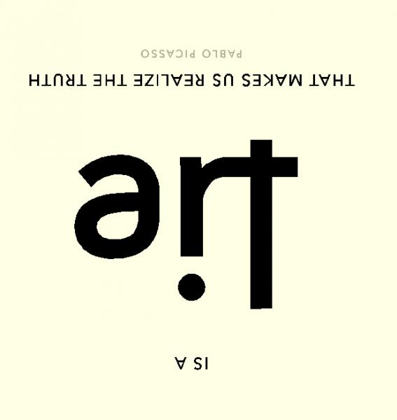 Art is a... by Scott Kim