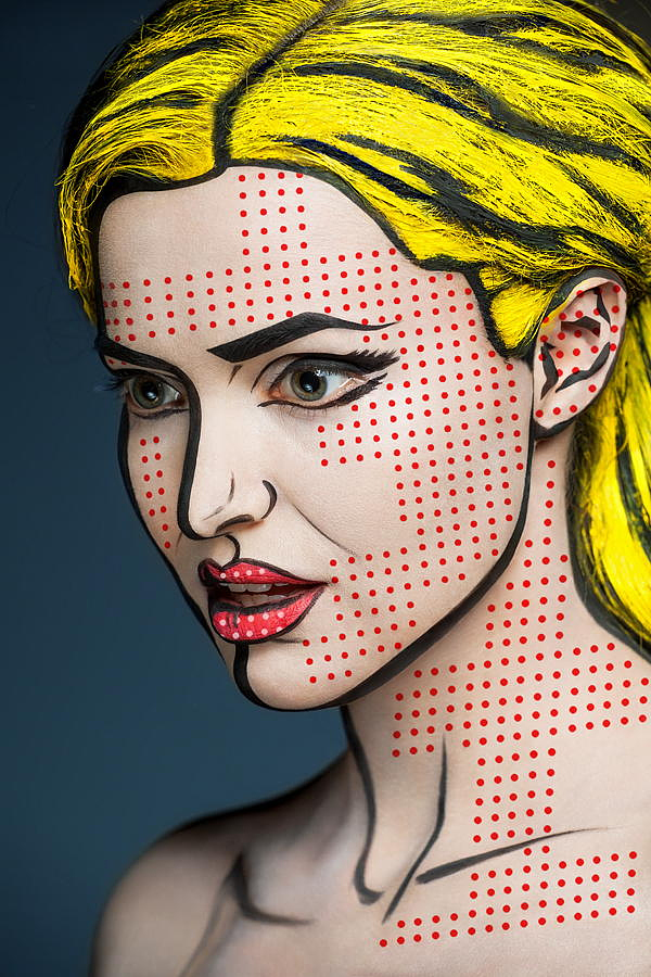 Comix Face by Alexander Khokhlov