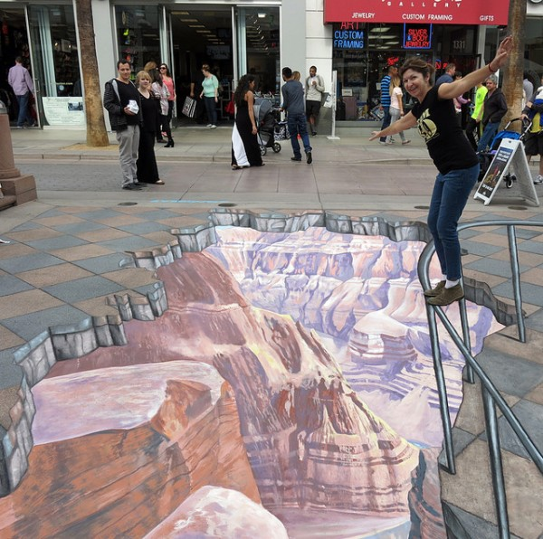 Grand Canyon Street Art by Tracy Lee Stum