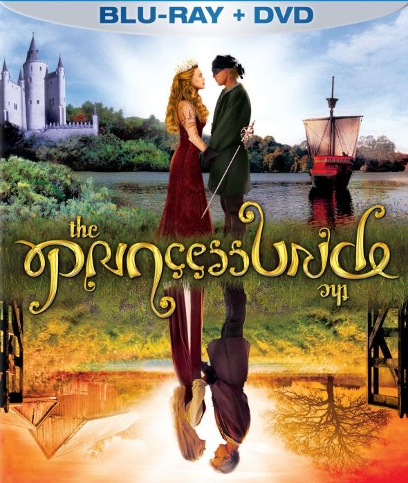 The Princess Bride Ambigram DVD Cover