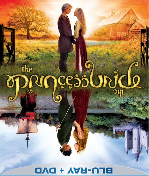 The Princess Bride Ambigram DVD Cover (Inverted)