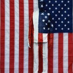 Liu Bolin - American National Flag