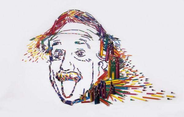 Einstein in Pencils #1