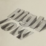 3D Typography from Lex Wilson