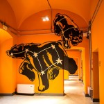 Anamorphic Graffiti by Truly Design