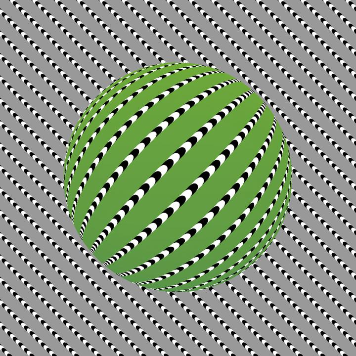 Watermelon by Akiyoshi Kitaoka